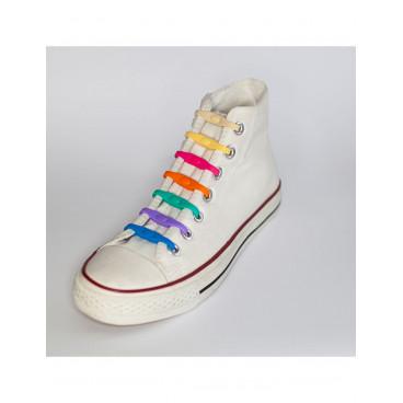 Shoeps Ελαστικά Κορδόνια Που Δεν Λύνονται Πολύχρωμα