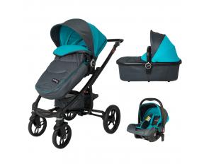 Smart Baby Πολυκαρότσι DHS Arrow 3 Σε 1 Travel System Blue 3360608203