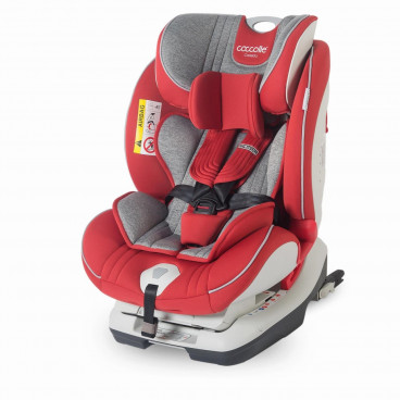 Smart Baby Κάθισμα Αυτοκινήτου Coccolle Cressida Isofix, 0-36kg Red 338084620