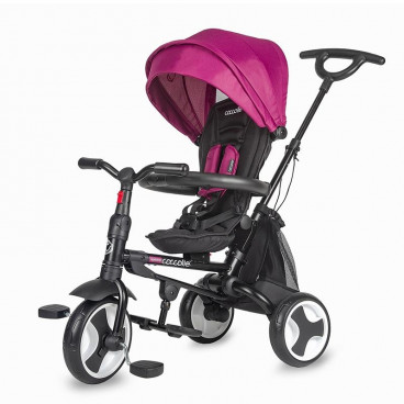 Smart Baby Ποδηλατάκι Τρίκυκλο Coccolle Spectra Magenta 320012850