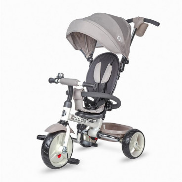 Smart Baby Ποδηλατάκι Τρίκυκλο Coccolle Urbio Grey 321010364