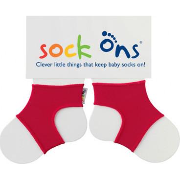 Sock ons Καλτσάκια Για Μωρά Κόκκινο 0-6 Μηνών