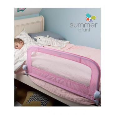 Summer Infant Προστατευτική Μπάρα Κρεβατιού Ροζ SIM12321Α
