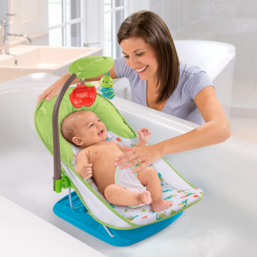 Summer Infant  Μπανάκι Πτυσσόμενο Με Παιχνίδι Baby Bather With Toy Bar SIM19176