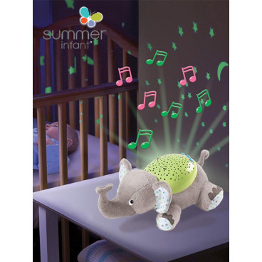 Summer Infant Διακοσμητικός Προβολέας Slumber Buddies Classic Ελεφαντάκι SIM06436