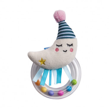 Taf Toys Κουδουνίστρα Mini Moon Rattle 12065