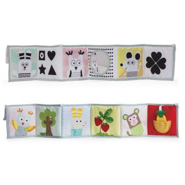 Taf Toys Μαλακό Βιβλίο Δραστηριοτήτων 3 Σε 1 Baby Book Taf Toys 12025