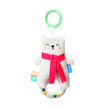 Taf Toys Κρεμαστή Κουδουνίστρα Paul The Bear 12315