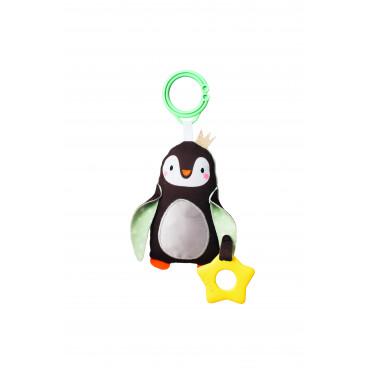 Taf Toys Κρεμαστή Κουδουνίστρα Prince The Penguin 12305