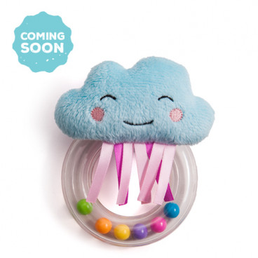 Taf Toys Κουδουνίστρα 0+ Μηνών Cheerful Cloud Rattle 12075