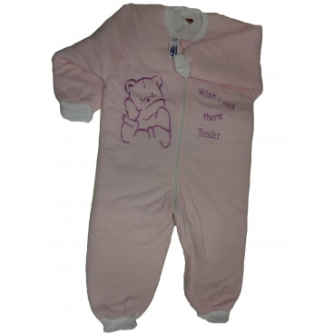 Tender Υπνόσακος Με Ανοιχτά Ποδαράκια Νο 4 Pink 1609