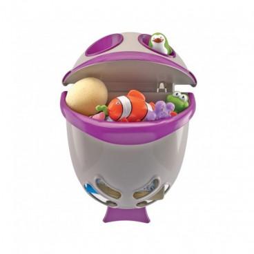 Thermobaby Καλάθι Αποθήκευσης Για Το Μπάνιο Bubble Fish Μωβ 2138051