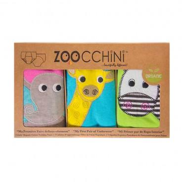 Zoocchini Εκπαιδευτικά Βρακάκια Girls Safari Friends ZOO8001