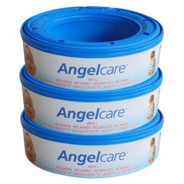 Angelcare 3 Pack Refills 3 Πλή Ανταλλακτική Κασέτα 1564