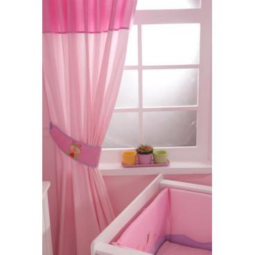 Oneira Nicole Pink κουρτίνα