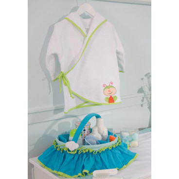 Oneira Καλαθάκι Καλλυντικών Nicole Blue 012403100000002