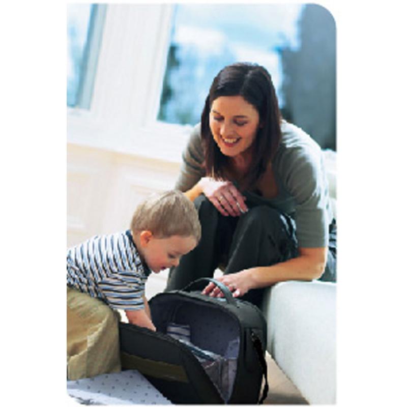 Baby Travel Τσάντα Αλλαξιέρα Carry Case Black 901