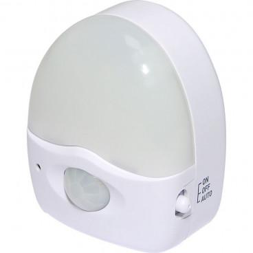 Olympia Addtronic Φωτάκι Νύχτας LED με Διακόπτη και Φωτoκύτταρο BWL 230