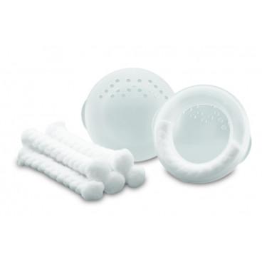 Ameda Συλλέκτης Γάλακτος  (2 Περιβλήματα Στήθους, 2 Διαμορφωτές Και 4 Επιθέματα)