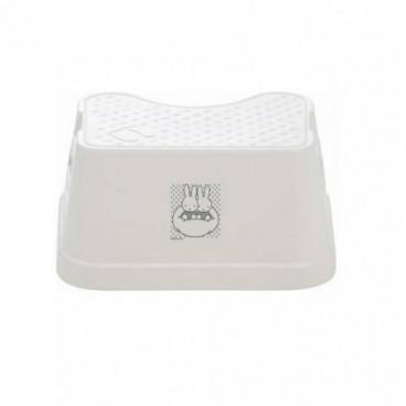 Bebejou Παιδικό Σκαλάκι Μπάνιου Miffy White Silver