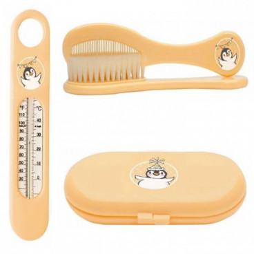 BebeJou Σετ Μπάνιου Penguin Soft Orange J-625033