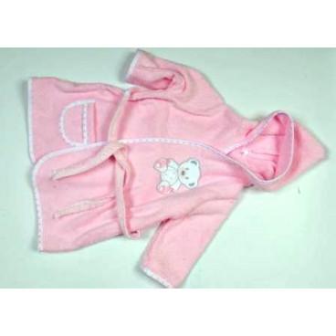 Baby Star Μπουρνούζι μπάνιου χρωματιστό sweet dots
