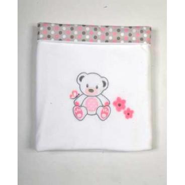 Baby Star Κουβέρτα Fleece Μεγάλη Με Φάσα Sweet Dots