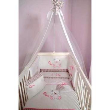 Baby Star Σετ προίκας κρεβατιού sweet dots