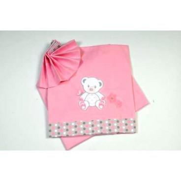 Baby Star Σεντόνια κρεβατιού χρωματιστά sweet dots