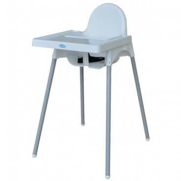Bebe Stars Καρέκλα Φαγητού Joy White 892-100
