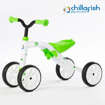 Chillafish Ποδήλατο Εκμάθησης Ισορροπίας Quadie Green CPQD01LIM