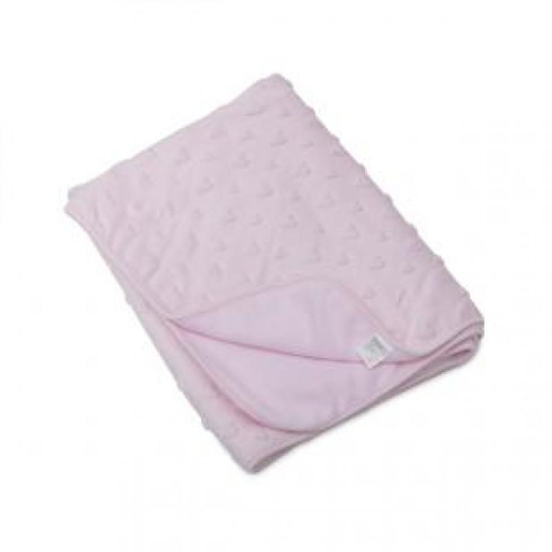 eb63c8796ea Cangaroo Κουβέρτα Fleece Αγκαλιάς Soft Pink 3800146260514