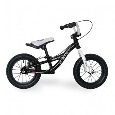 """Byox Ποδήλατο Εκμάθησης Ισορροπίας Step by Step 12"""" Black 3800146200466"""
