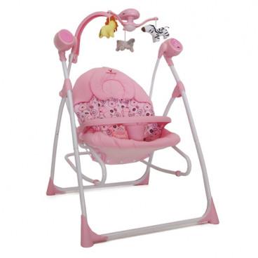 Cangaroo Ρηλάξ Κούνια Swing Star Pink 3800146246952