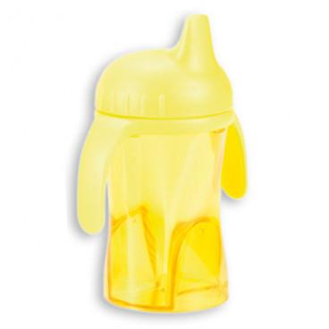 Difrax κύπελο που δε στάζει με σκληρό στόμιο Yellow  0902-702