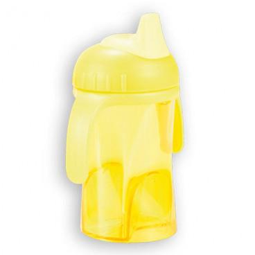 Difrax κύπελο που δε στάζει με μαλακό στόμιο Yellow 0902-704