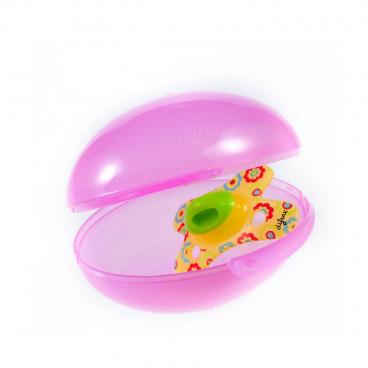 Difrax αυγό αποστείρωσης πιπίλων Pink