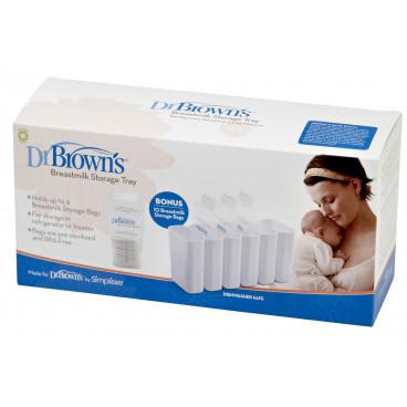 Dr.Brown Θήκη Αποθήκευσης Μητρικού Γάλακτος 4016-GB