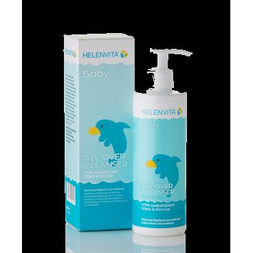 Helenvita Baby All Over Υγρό Καθαρισμού 300ml 5213000521849