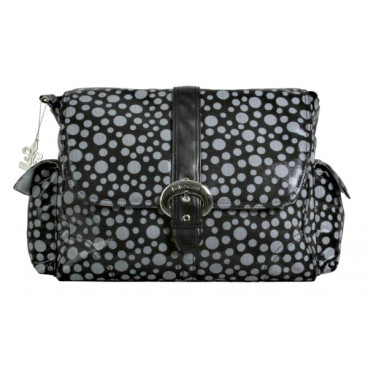 Kalencom τσάντα αλλαξιέρα Buckle Bag Bubbles Black KLN-BU2960B