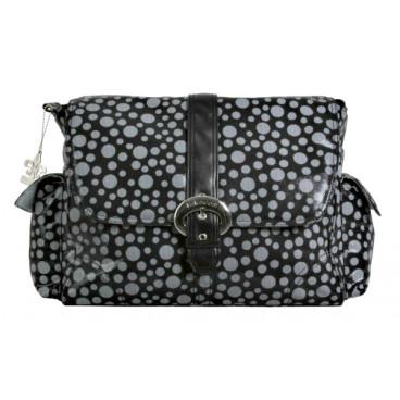 Kalencom τσάντα αλλαξιέρα Buckle Bag Bubbles Black KLN-BU2960B