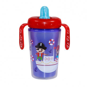 Lorelli Μονωμένο Κύπελλο Με Χερούλια 300ml Violet Pirate 1023042
