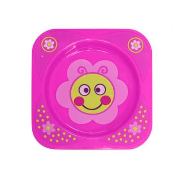 Lorelli Πιατάκι Φαγητού Pink 1023041