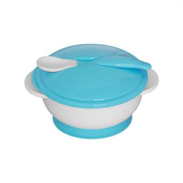 Lorelli Σετ Μπωλ Φαγητού Με Κουταλάκι Μπλε 1023040