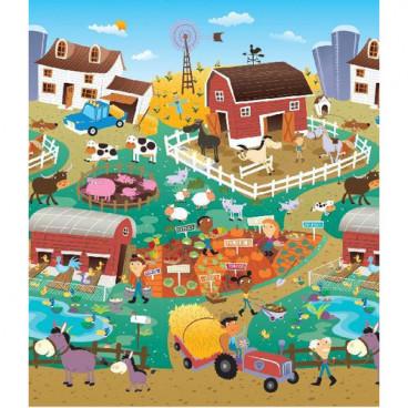 Prince Lionheart  Χαλάκι Δραστηριοτήτων  Playmat City Farm 7711