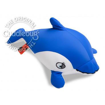 Cuddlebug Παιδικό Μαξιλαράκι Δελφίνι