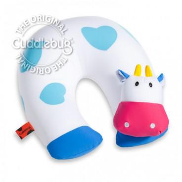 Cuddlebug Παιδικό Μαξιλαράκι Αυχένα Αγελαδίτσα