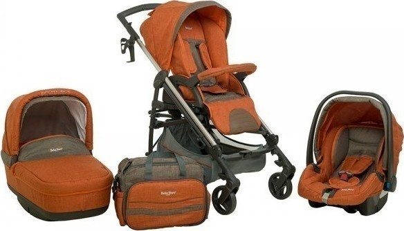 Oneira Bebe Stars Πολυκαρότσι Caprice 3 Σε 1 Brown 330T-182 819ab9a3fc3